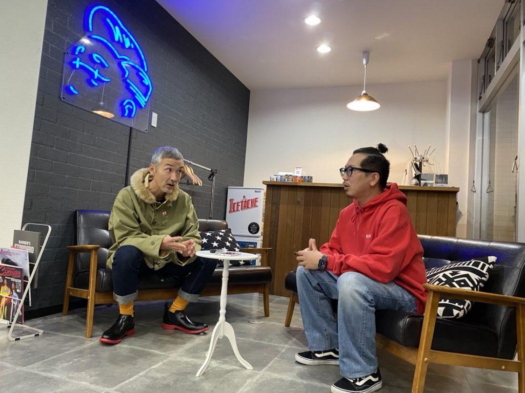 PAPA B 上田理髪店