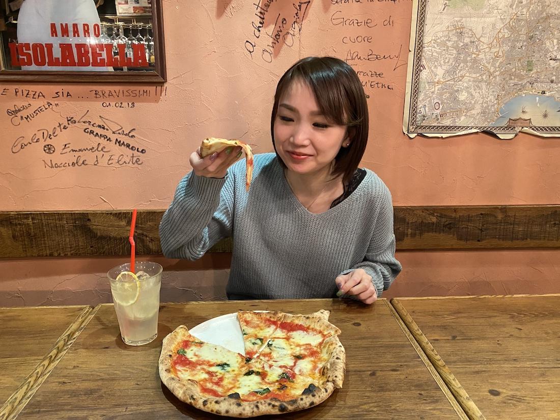 北海道 札幌 LA TAVOLOZZA ラ・タヴォロッツァ ピザ