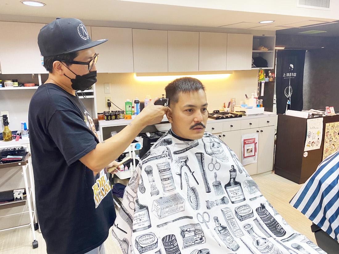 北海道 札幌 上田理髪店 北一条店 BARBER